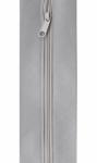 Zippity-Do-Done Light Gray 18 Inch Zipper With Pull