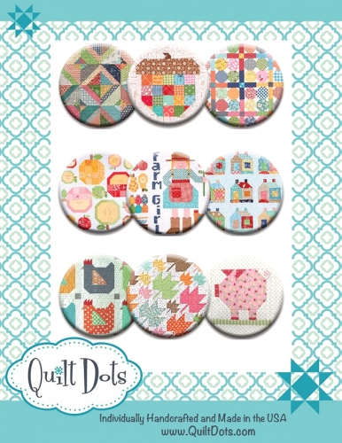 Quilt Dots - Lori Holt Farm Girl 9 Set