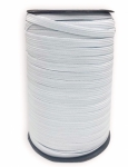 Elastic - White Braided - 140 yd Spool .25 Inch