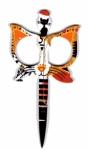 Orange Cat Scissors