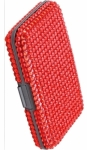 Bling Scan Safe Wallet Red