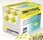 Target Stickers 250 per Roll by Designs in Machine Embroidery