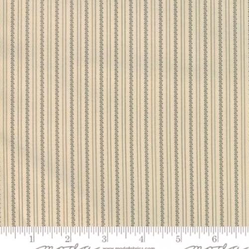 Skinny - SK2836- 1 yd - MODA FABRICS - Jos Shirtings - Latte Charcoal