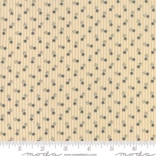 MODA FABRICS - Jos Shirtings - Parchment Charcoal - #1396-