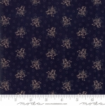 MODA FABRICS - Hickory Road - Navy With Tan Floral