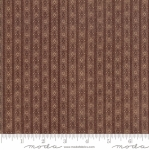 MODA FABRICS - Hickory Road - Brown Stripe