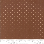 MODA FABRICS - Hickory Road - Polka Dots Cream