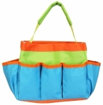 Project Tote Teal Lime and Orange by Allary