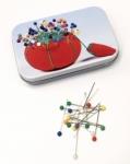 Clearance - Plastic Head Pins Tin