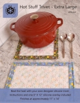 Hot Stuff Extra Large Trivet  by Around the Bobbin