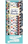 Quilty Pencils 10 pcs by Laura Cola