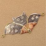Halloween Bat Needle Nanny by Puffin & Company