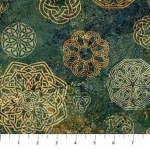 NORTHCOTT - Stonehenge Solstice - Green Celtic Symbols