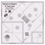 Creative Grids Square on Square 8in Trim Tool  CGRJAW8