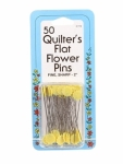 Collins Flat Flower Pins 2 in 50ct