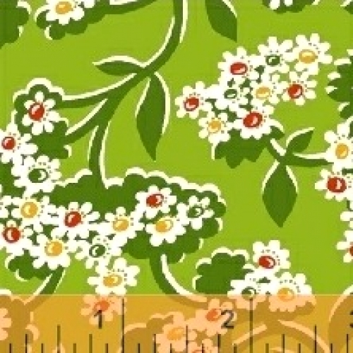 BAUM TEXTILES - Mimosa - Green - FB7051