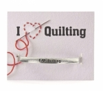 Clearance - Quotable Cuffs Bracelet - I Heart Quilting