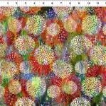 IN THE BEGINNING FABRICS - Floragraphix V - Chrysanthemum - Multi