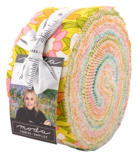 A Blooming Bunch Jelly Roll Moda Precuts