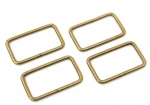 Rectangle Rings Antique 4ct 1.5  Inch by Sallie Tomato