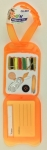 Clearance - Orange Go and Sew Baggage Sewing Kit
