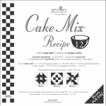 Miss Rosie's Quilt Co - Cake Mix Recipe 12