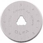 Olfa 28mm Replacement Rotary Blade 5/pk