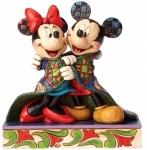 Jim Shore - Mickey and Minnie - Warm Wishes Figurine