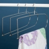 HTL 19 inch Chrome Plated Quilt Hanger 5 Pack