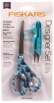 Clearance - Fiskars Designer Set 8in Scissor w Blue Snip