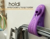 Holdi - Hoop Holder - Lavender by SmartNeedle