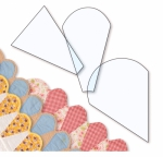 Ice Cream Cone Border Templates