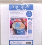 Stiff Stuff 10in Squares Craft Pack by Lazy Girl Designs