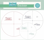 Lori Holt Circle Ruler Set Sizes 8, 10 & 12 Inch