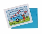 Campers Note Cards by Amy Bradley Designs