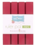 Hot Pink Mini Ruler Pal 4 x 5.5 by Pleasant Home