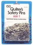 Collins Quilters Safety Pins Sz1 150ct