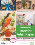 Transfer Artist Paper TAP 18 pack by Lesley Riley