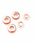 Double Faced Snap Together Grommets Copper