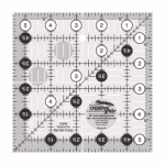 Creative Grids Quilt Ruler 5.5 in Square CGR5 - includes Skipping Along Pattern