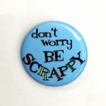 Don't worry - be scrappy Sew Sassy Button