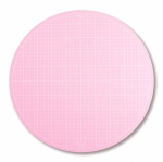 Sue Daley Pink Round Rotating Cutting Mat 10 inch