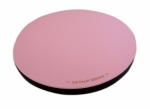 Pink Rotating Cutting Mat 10 inch diameter by Sue Daley
