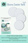 Silicone Coaster Refill 4 pk by Around The Bobbin