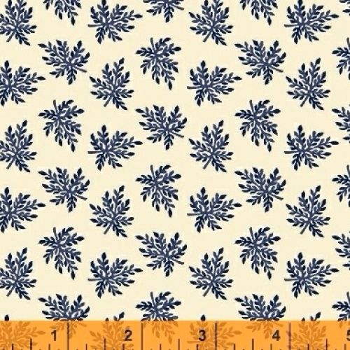 Skinny - SK3536- 5/8 yds - BAUM TEXTILES - Evelyn - Single Leaf