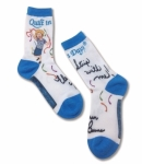 Sock - Quilt in a Day Eleanor Burns Socks