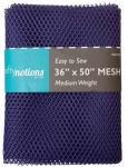 Mesh Fabric, Medium Weight, Purple 36 in x 50 in