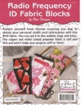 Radio Frequency ID Fabric Blocks by The Decorating Diva