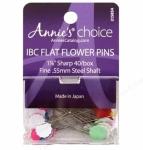 IBC Flower Head Pins 1 7/8 inches