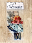 Silhouettes - Super Bloom by Laundry Basket Quilts